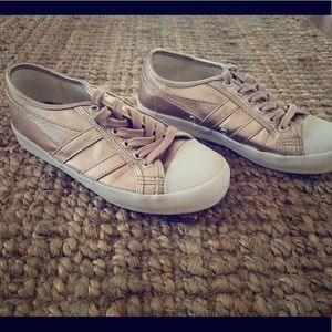 GOLA gold sneakers - size 6